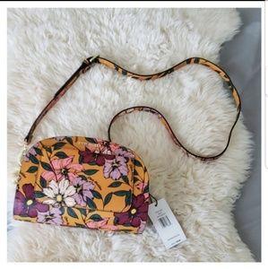 Nwt Steve Madden mustard floral fall purse
